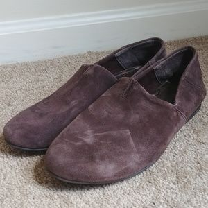B.O.C. Born Brown Suede Flat Shoes Size 7